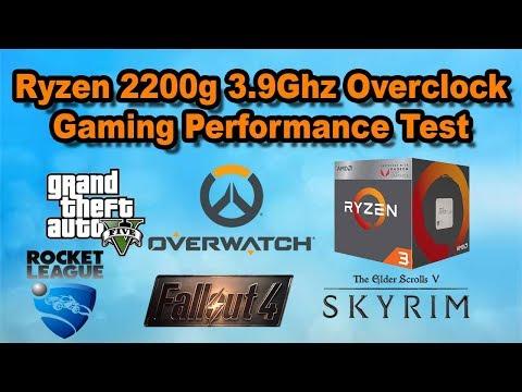 3.9Ghz RYZEN 3 2200g Gaming Performance Built in Vega 8 Graphics