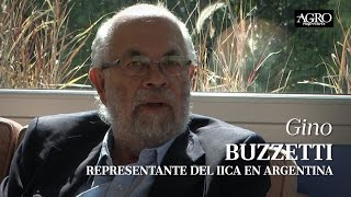 Gino Buzzetti - Representante del IICA en Argentina