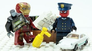 Video LEGO SPIDER MAN & IRON MAN POLICE Changing Hero Costumes MP3, 3GP, MP4, WEBM, AVI, FLV November 2018