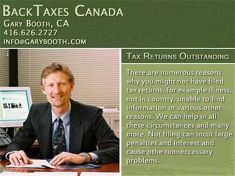 P48 Income Tax Preparation Services in Toronto | backtaxescanada.ca