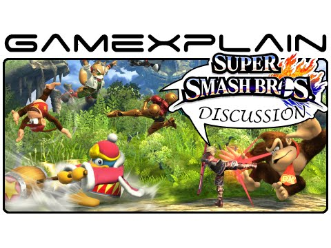 event - http://www.GameXplain.com Nintendo blew the top off the Wii U version of Super Smash Bros with 8 Player Smash, new stages, new modes, and the return of Mewtwo as DLC. We give our thoughts on.