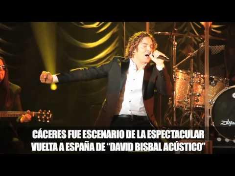 David Bisbal Acústico, Cáceres 08/04/12