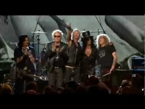 Guns N' Roses – Paradise City – Live Rock And Roll Hall Of Fame HD