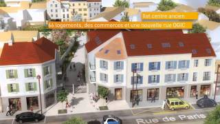 Gonesse France  City new picture : La rénovation du centre-ville de Gonesse (95).wmv