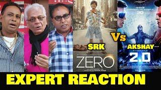 Video ZERO Trailer vs 2.0 Trailer | EXPERT REACTION | SRK vs Akshay | Battle On The Internet & Box Office MP3, 3GP, MP4, WEBM, AVI, FLV November 2018