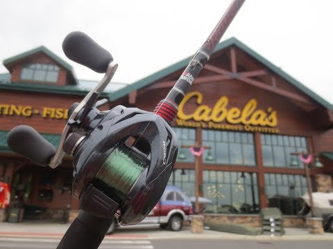 Buying My First Baitcaster!! & Fishing With It