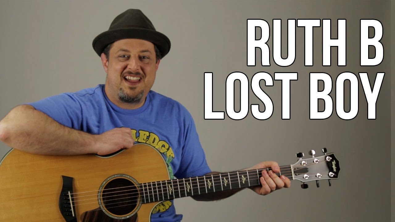 "How to Play ""Lost Boy"" by Ruth B on Guitar – Easy Beginner Acoustic Songs for Guitar"