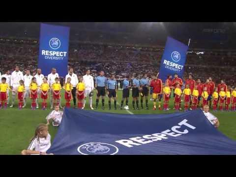 2012 Euro Cup Semi Final Spain vs Poturgal