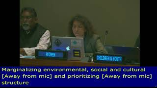 Nathalie Seguin's Review of SDG 6, Water at the HLPF 2018: UN Web TV