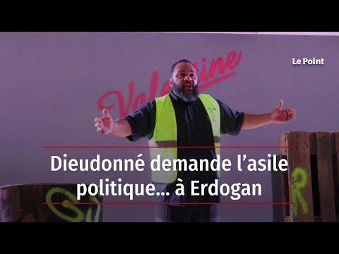 Dieudonné M'Bala M'Bala demande l'asile politique… à Erdogan