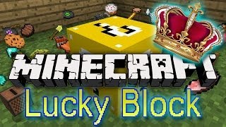 Minecraft: Lucky Block King! Modded Mini-Game w/Mitch&Friends!