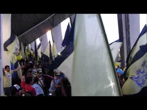 La 'Rampa de los sueños' en la final de Concachampions [América 1-1 Montreal] - Ritual Del Kaoz - América