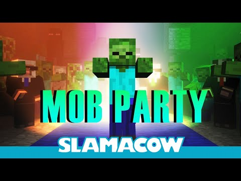 Minecraft Mob Dance Party - Animation