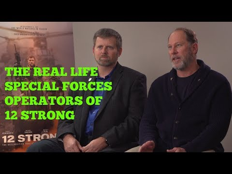 12 STRONG: MEET THE REAL LIFE SPECIAL FORCES OPERATORS