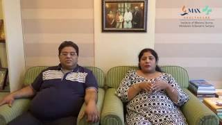 Mr. & Mrs. Anand together undergo obesity surgery & start their new journey of life !