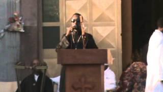 Ethiopian Orthodox Preaching - Abune Gebre Menfes Kudus Church