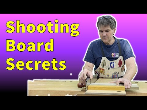 How To Use A Shooting Board - Like a Pro!