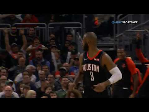 Chris Paul DESTROYS DJ Wilson