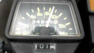 10. Serow 225 Yamaha acceleration 0-100km