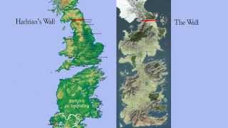 If you've ever thought that the map of Westeros from Game of Thrones looks familiar, it might be because it's basically the map of the UK and Ireland upside ...
