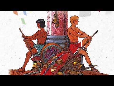 Exposition ALIX héros de l'Antiquité à Bram (Aude)