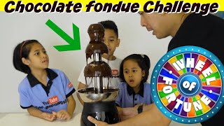 Video CHOCOLATE FONDUE CHALLENGE!! | TheRempongsHD MP3, 3GP, MP4, WEBM, AVI, FLV November 2018