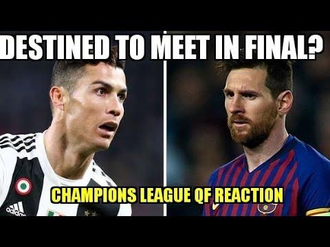 Champions League Quarter Final Draw Reaction