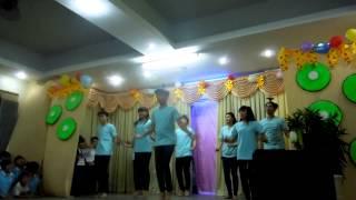 múa trống cơm - giời trẻ Tín Đức