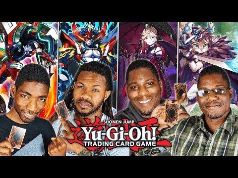Yu-Gi-Oh! Tag Team 2 vs 2 Duel! ROKKETS & GOUKIS vs FUR HIRES & VAMPIRES! видео