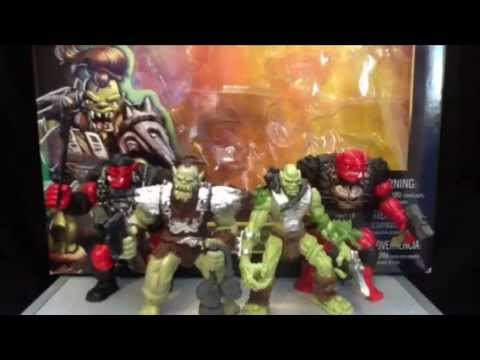 True Legends Mythical Warriors Orc 4-Pack