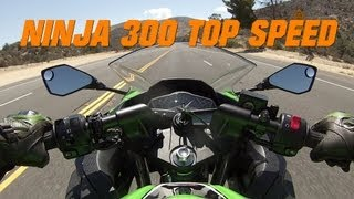 8. Kawasaki Ninja 300 TOP SPEED - Ninja 300 Top Speed w/ Two Brothers exhaust