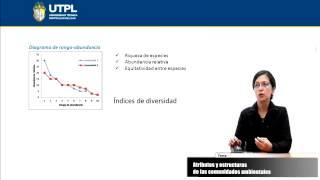 UTPL ATRIBUTOS Y ESTRUCTURAS DE LAS COMUNIDADES AMBIENTALES [(ECOSISTEMAS DEL ECUADOR)]