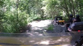 9. Can am Commander trail riding