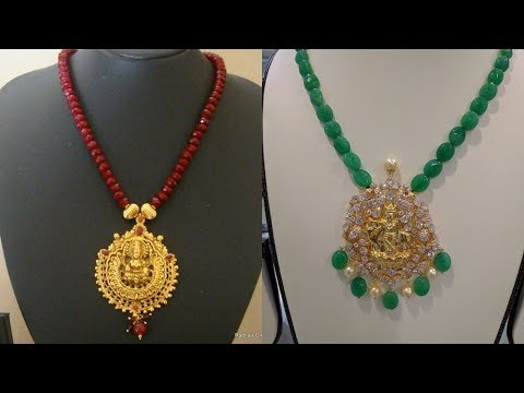 Gold And Crystal Necklace Designs 2018