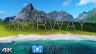 Download Video FLYING OVER NORWAY (4K UHD) 1HR Ambient Drone Film + Music by Nature Relaxation™ for Stress Relief MP3 3GP MP4