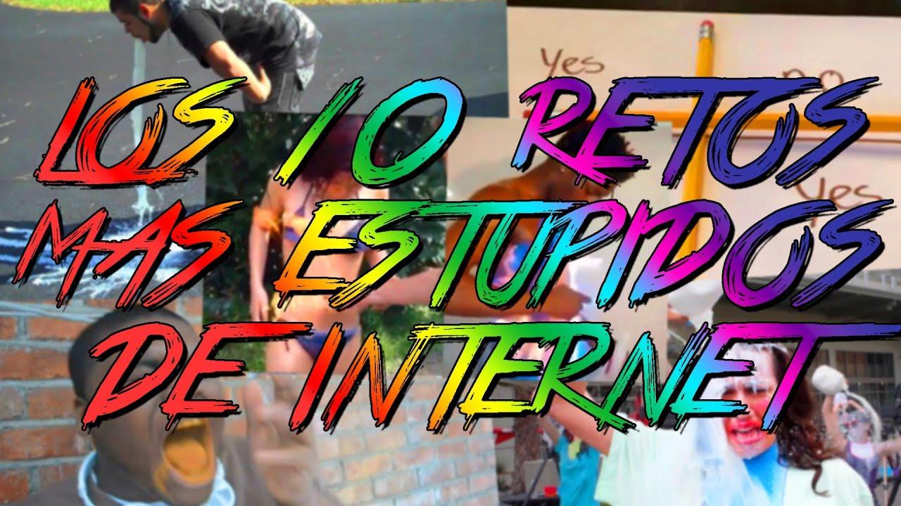 LOS 10 RETOS MAS ESTUPIDOS DE INTERNET – 8cho