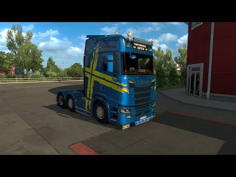 Scania S Performance Edition Skin update v1.3