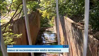 Prefeitura de Tupã retoma obras de macrodrenagem que estavam paradas há 10 anos