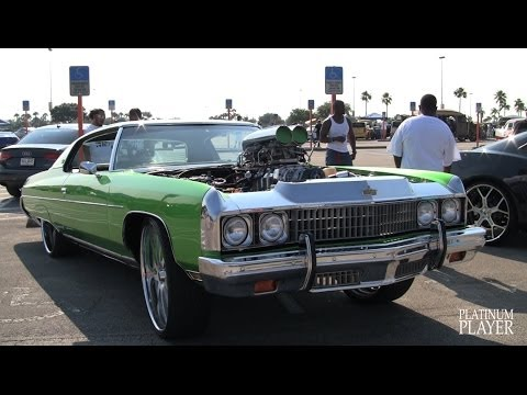 SUPERCHARGED LIME 73 DONK on 26 INCH SAVINI SV37- MIAMI