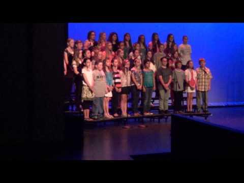 spring 2013 stafford twp internediat school choir concert (fields of gold)