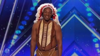 Download Video America's Got Talent 2016 Christopher One Little Indian Or Is It Full Audition Clip S11E05 MP3 3GP MP4