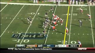 Chandler Jones vs Pittsburgh 2011