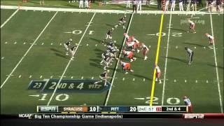 Chandler Jones vs Pittsburgh 2011