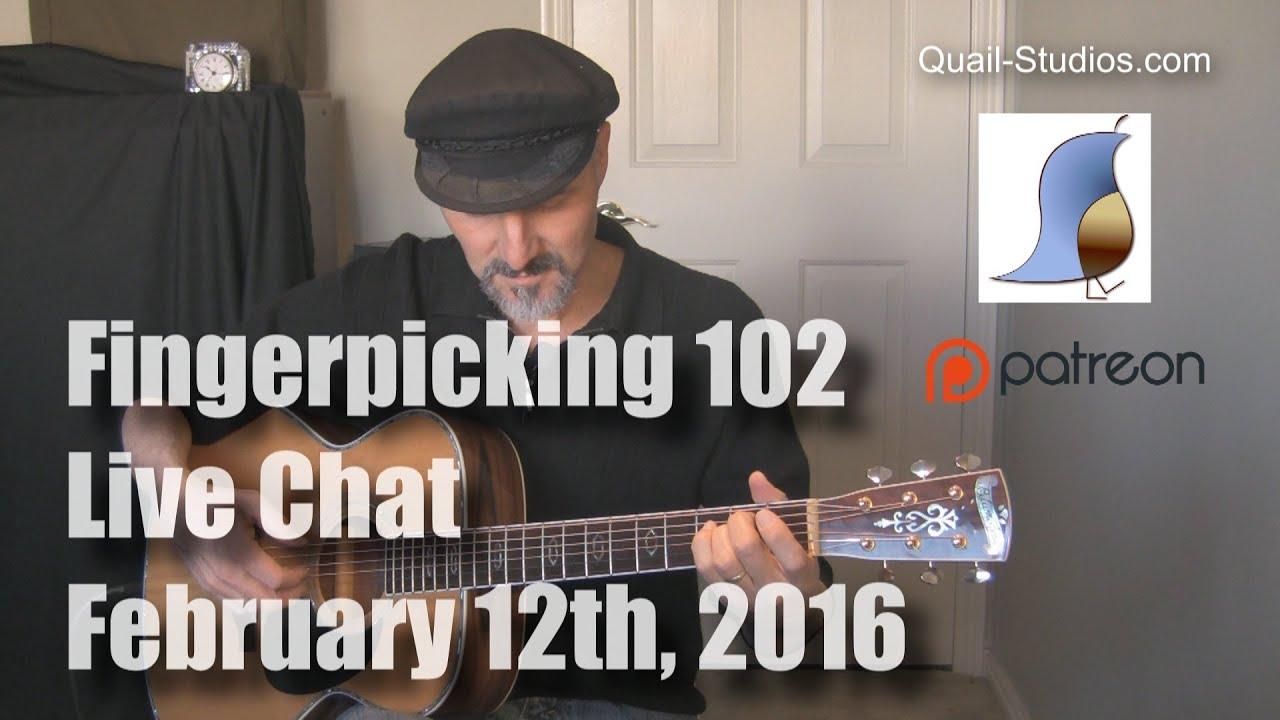 Fingerpicking 101 – Guitar Lesson