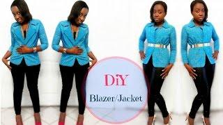 Video How to make a Blazer/Jacket (for beginners) MP3, 3GP, MP4, WEBM, AVI, FLV Juli 2018