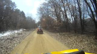 7. Our new Kymco Maxxer 375 in Wisconsin Video 2