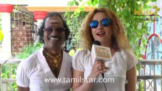 Shankar Ganesh&Aani Princy at Maharani Kottai Movie Shooting Spot