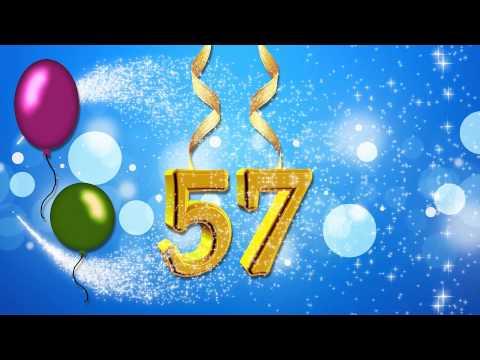 Поздравления с 57 летием женщине
