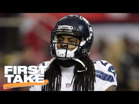 Richard Sherman Is Taking Too Much Blame For Seahawks' Issues | First Take | June 14, 2017 (видео)