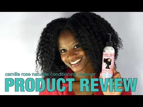 Camille Rose Naturals Conditioning Cleanser PRODUCT REVIEW on Kinky Curly Hair | LHDC-TV